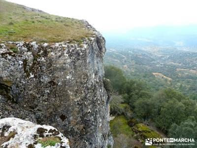 Monumento Natural Tetas de Viana - Trillo; senderismo con niños; mochilas senderismo